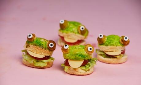 Kim-Joy's recipe for frog ploughman savoury scones