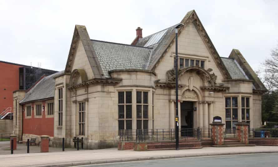 Heywood Library.
