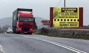 There are obvious contradictions about leaving the EU and maintaining an open border with Ireland.