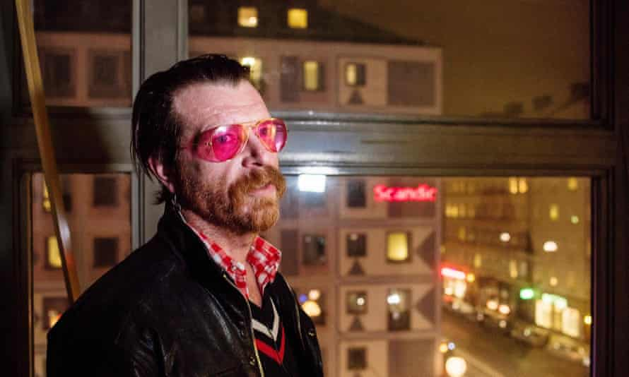 Controversial statement … Jesse Hughes earlier this year.