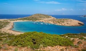 Kalotaritissa beach, Amorgos,