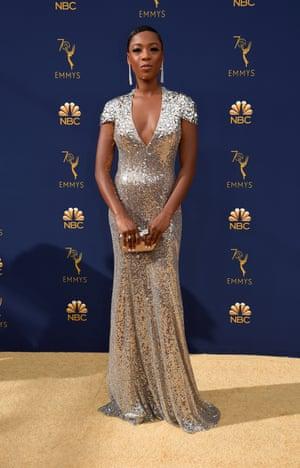 Actor Samira Wiley from Handmaids Tale.