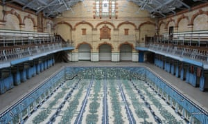 The former men-only first-class pool at Manchester's Victoria Baths.