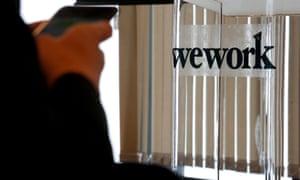 WeWork office space in Hong Kong