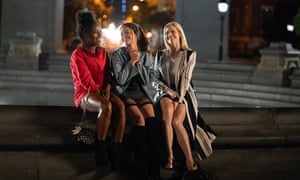 DeWanda Wise, Gina Rodriguez and Brittany Snow in Someone Great