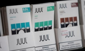 The lawsuits come as about 27.5% of US high school students say they have vaped in the past month.