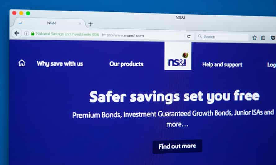National Savings and Investments website