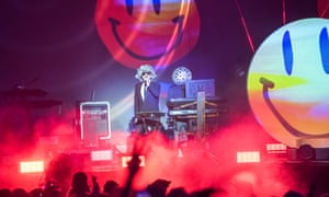 'By the time Pet Shop Boys finish their set, Lulworth Castle has become English Heritage's most rainbow-washed edifice.'