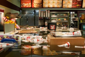 Flooded McDonald's by Superflex, 2009