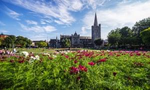 St Patricks Cathedral and St Patricks Park, Dublin.