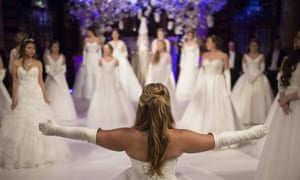 Debutantes at the 2016 Queen Charlotte's ball in London.