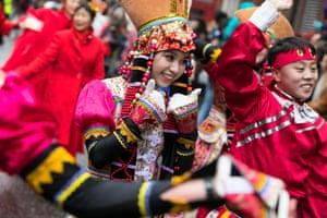 London, UK Chinese new year celebrations in Soho