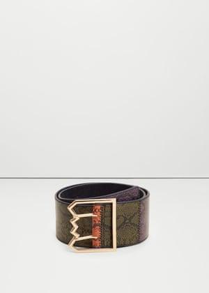 Animal snake belt £15.99 mango.com