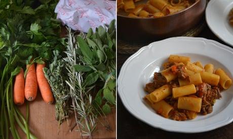 Rachel Roddy's recipe for lamb ragu with pasta