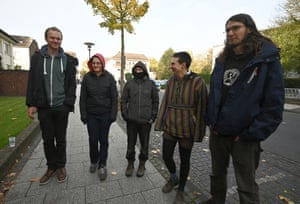 Weisweiler coal protesters