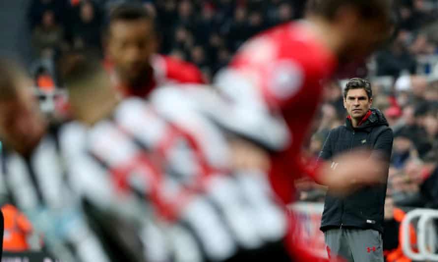 Southampton manager Mauricio Pellegrino has won only five Premier League games this season.