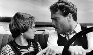Tatum and Ryan O'Neal in Paper Moon (1973).