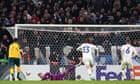 Fraser Forster rescues Celtic with penalty save against Copenhagen