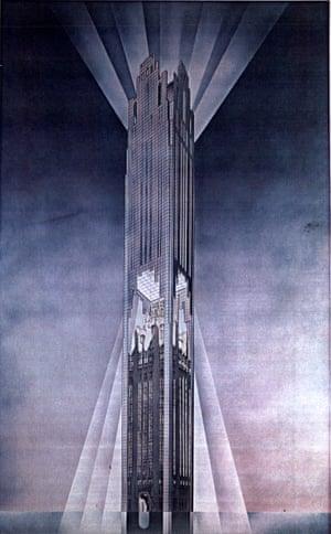 Helmut Jahn's 1980 entry.