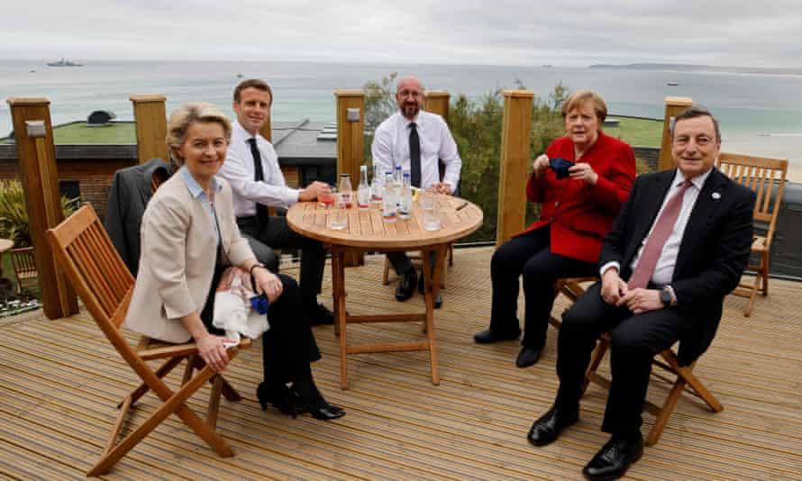 Group G7 photograph