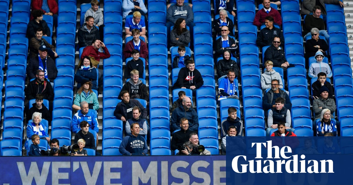Premier League fans must wear masks, not sing too much and no hugging
