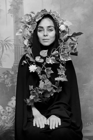 Untitled, from Women of Allah series, 1995