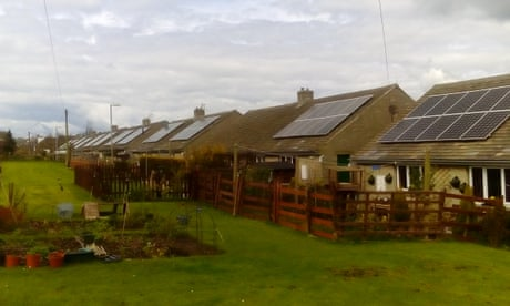 Batteries included: Yorkshire village seeks to solve riddle of too much sun