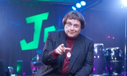 John Thomson in The Fast Show sketch Jazz Club.