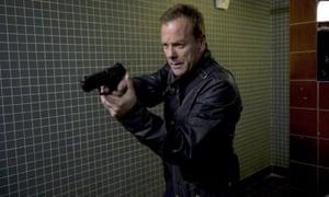 Kiefer Sutherland as 24's Jack Bauer