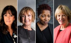 Gail Rebuck, Tessa Jowell, Bonnie Greer, Joan Bakewell,
