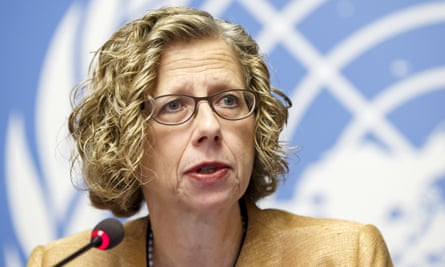 Inger Andersen, executive director of the United Nations Environment Programme and co-author of the article.