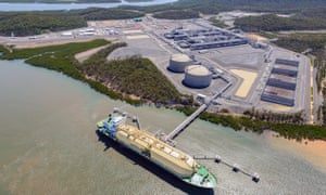 Emissions released during LNG processing and coalmining have jumped 55%, which poses a problem to Australia in meeting its Paris targets