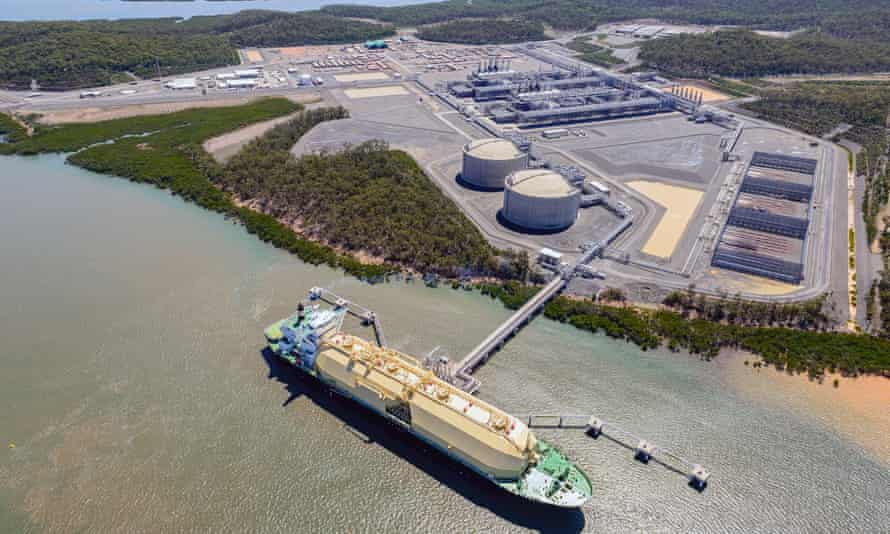 Liquefied natural gas facility in Queensland