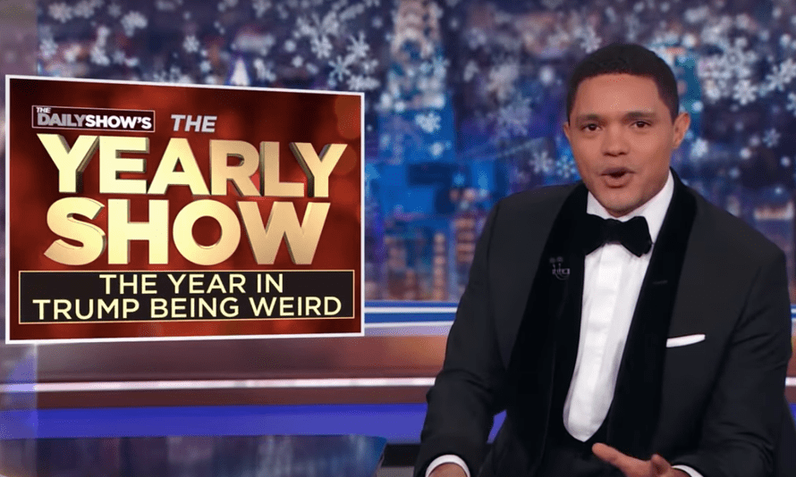 Trevor Noah's The Yearly Show.