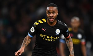 Raheem Sterling has told Spanish publication AS he is happy at Manchester City for now.