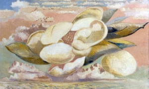 Flight of the Magnolia (1944) by Paul Nash.