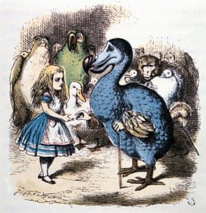 'Wouldn't it just be superfun to do it my way?' … an 1865 illustration for Alice in Wonderland.