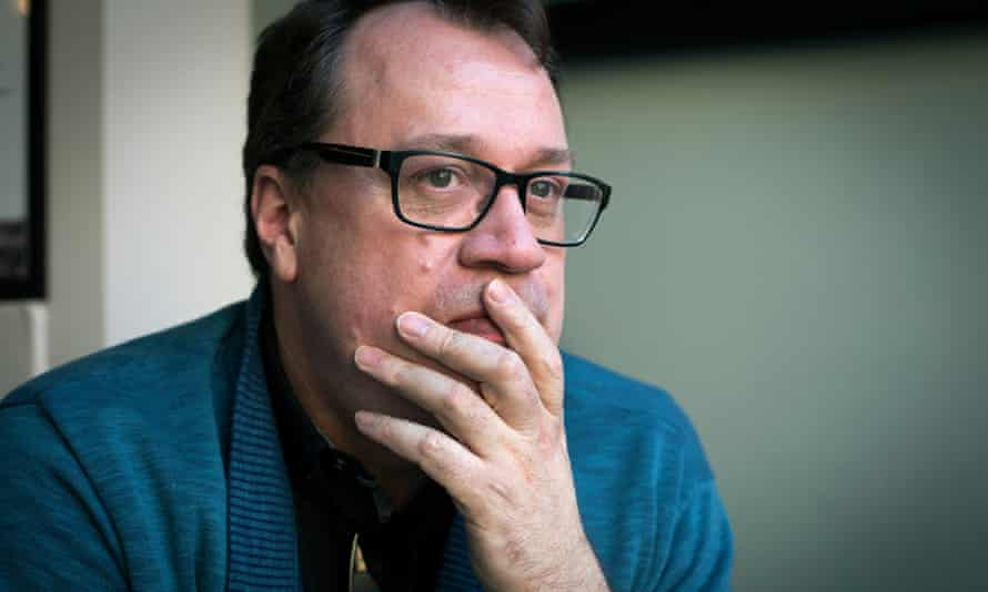 """Russell T Davies in Manchester, 2016. He said recently: 'As a gay man, I'm sitting there going, """"Where is my content?""""'"""