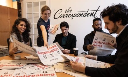 Wijnberg and his colleagues need to raise $2.5m by 14 December 14 for the English version – called the Correspondent – to get off the ground.