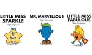 three of the new Mr Men characters.