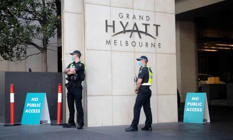 Grand Hyatt hotel in Melbourne