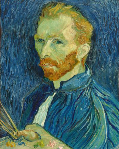 Vincent van Gogh's painting Self-Portrait.