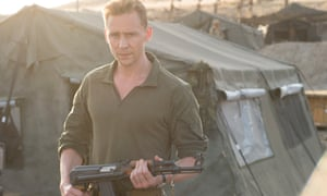 Tom Hiddlestone in The Night Manager