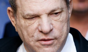 Harvey Weinstein leaving New York State Supreme Court in July.