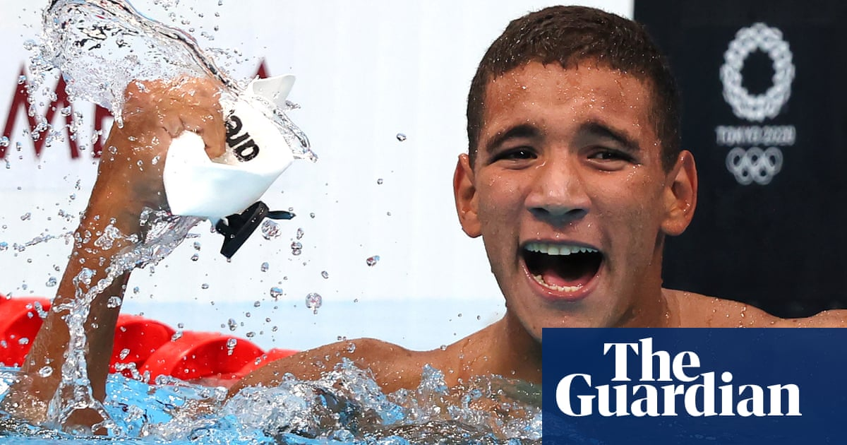 Shock as Ahmed Hafnaoui of Tunisia powers to gold in 400m freestyle