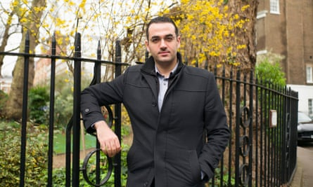 Osama Gaweesh, an Egyptian asylum seeker who has been waiting more than a year for a Home Office decision.