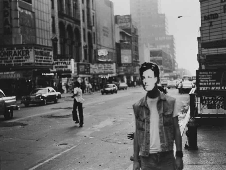 David Wojnarowicz's Arthur Rimbaud in New York (Times Square)