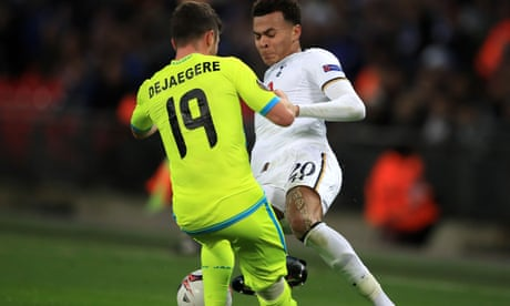 Tottenham's Dele Alli banned for three European club games over red card