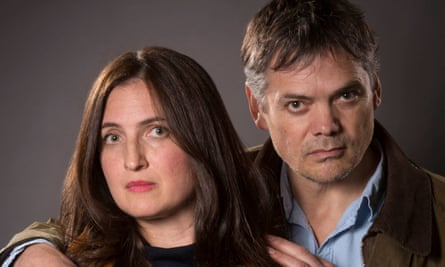 Louiza Patikas and Timothy Watson, the actors portraying Helen and Rob Titchener.