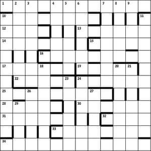 Azed 2455 grid